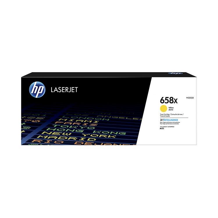 HP W2002X AMARELO - 658X