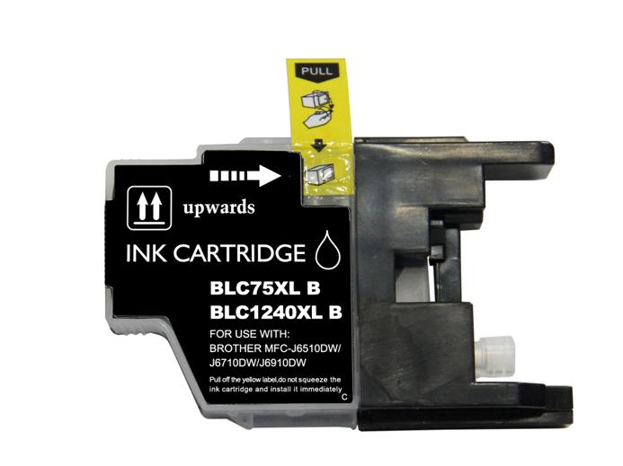 Brother Lc1280xl Bk Alta Capacidade Compativel