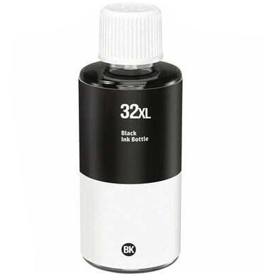 HP32XL PRETO GARRAFA de Tinta Pigmentada Generica -  1VV24AE