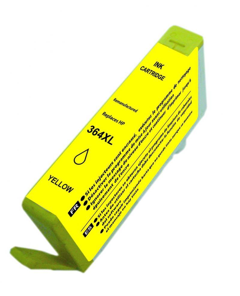 Hpcb325e - Hp364xl Amarelo Compativel