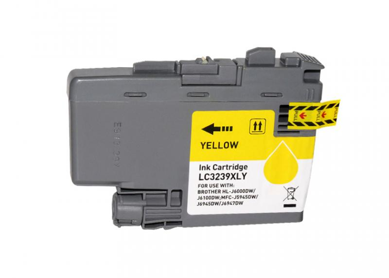 Brother Lc3239xl Amarelo Compativel