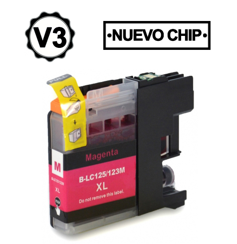 Brother Lc123 Magenta Compativel