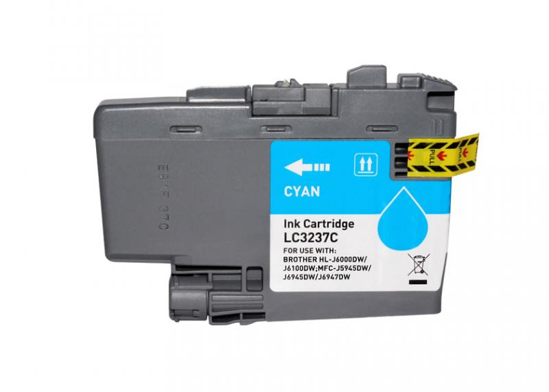 Brother Lc3237 Azul Compativel