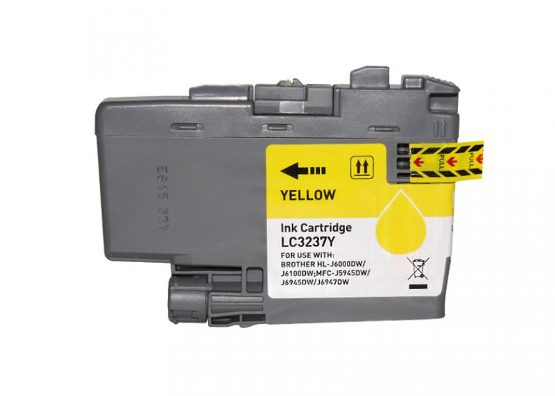 Brother Lc3237 Amarelo Compativel