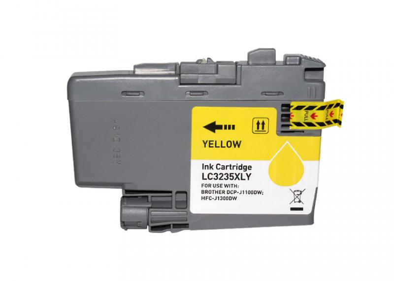 Brother Lc3235 Amarelo Compativel