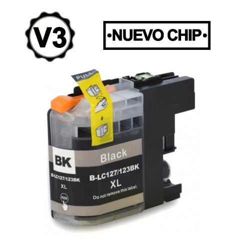 Brother Lc123bkPreto Compativel
