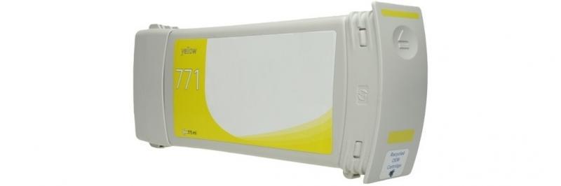 HP771C AMARELO Generico -  B6Y10A