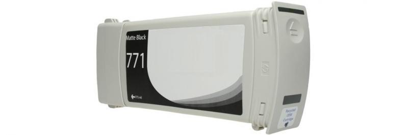 HP771C PRETO Mate Generico - B6Y07A