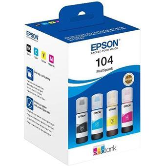 Epson 104 - Multipack 4 TINTEIROS -  C13T00P640