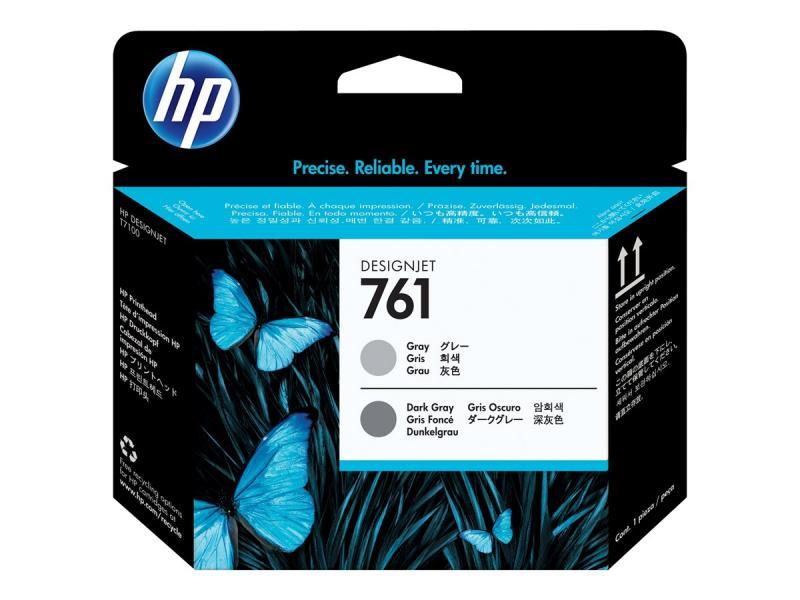 HP761 CABEÇA IMPRESSAO  - CINZA / CINZA ESCURO - HPCH647A