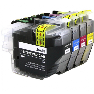 Brother Lc3217 Pack 20 - 8 X Bk + 4 Cada Cor Compativel