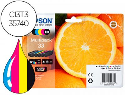 Epson T335740Pack Com As 5 Cores - T33xl