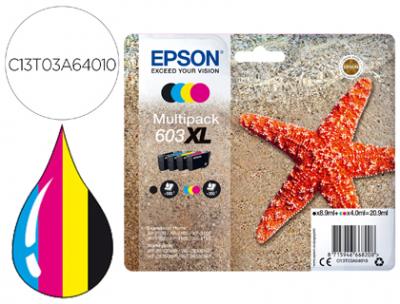 Pack Epson T03a640 - 1 Cada Cor 603xl