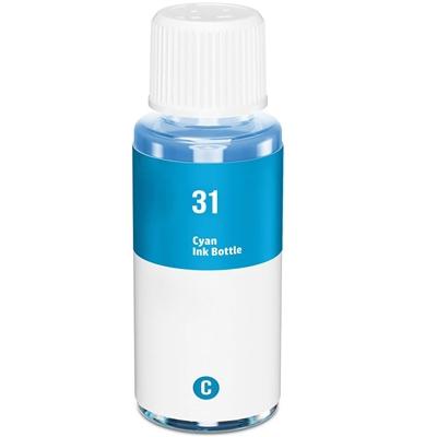 HP31 AZUL GARRAFA de Tinta Generica - 1VU26AE