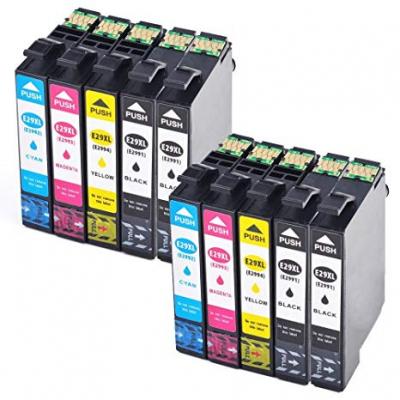 Pack Epson T299640 - 20 Unid. - 8 X Bk + 4 Cada Cor Compativel