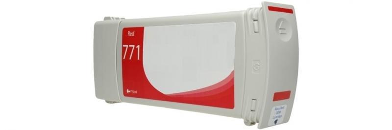 HP771C VERMELHO Cromatico  Generico -  B6Y08A