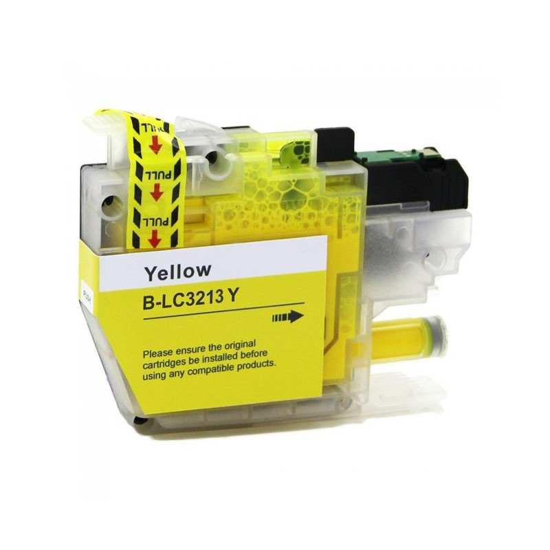 Brother Lc3213 Amarelo Compativel