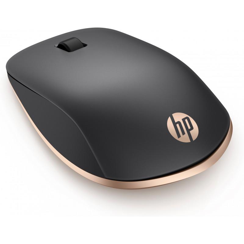 Mouse Hp Z5000 Bluetooth - 3 Botões - Cor Preto / Cobre