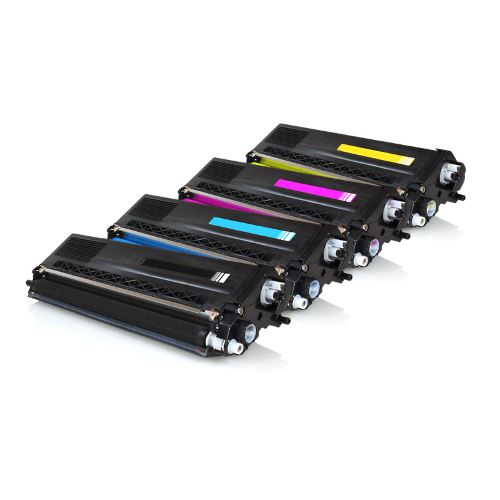Pack 4 Toners Brother Tn325 Compativel