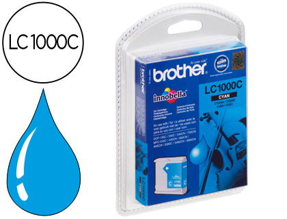 Brother Lc1000 C Azul