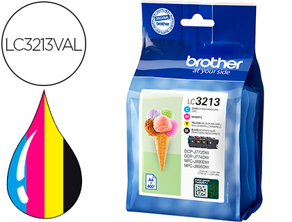 Brother Lc3213val 1 Cada Cor