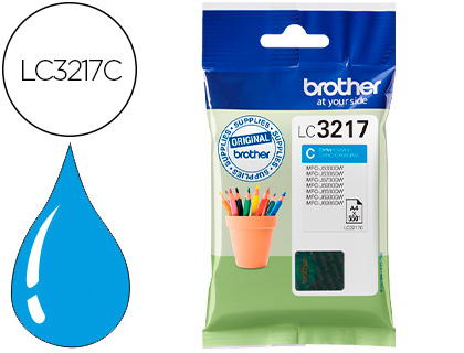Brother Lc3217 Azul