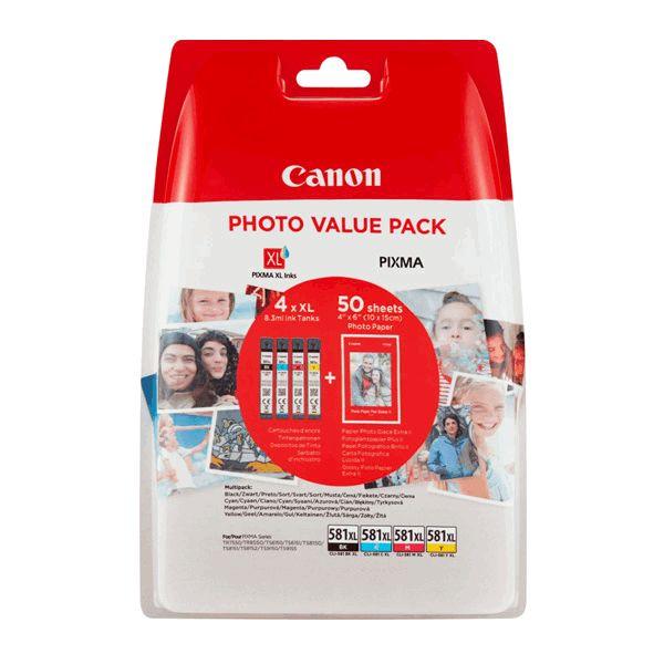 Canon Cli581xlbk /xlc/ Xlm /xly - Alta Capacidade