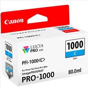 Canon Pfi1000 Azul Tinta Pigmentada
