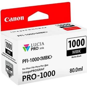 Canon Pfi1000 Preto Mate Tinta Pigmentada