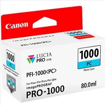 Canon Pfi1000 Azul Photo Tinta Pigmentada
