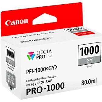 Canon Pfi1000 Gris Tinta Pigmentada