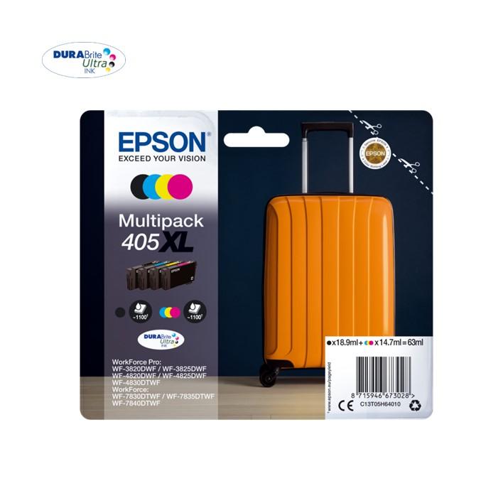 Pack Epson 405xl X 4 Cores