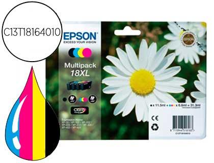 Epson T181640 Pack 4 Cores Alta Cap.