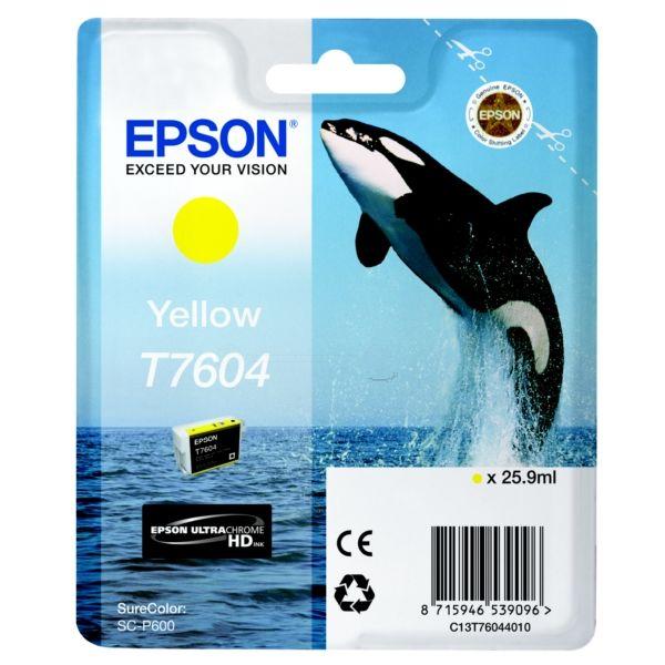 Epson T760440Amarelo