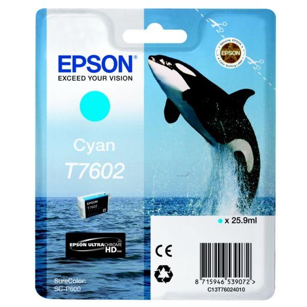 Epson T760240Ciano