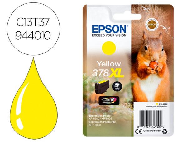 Epson T379440 (378xl) Amarelo
