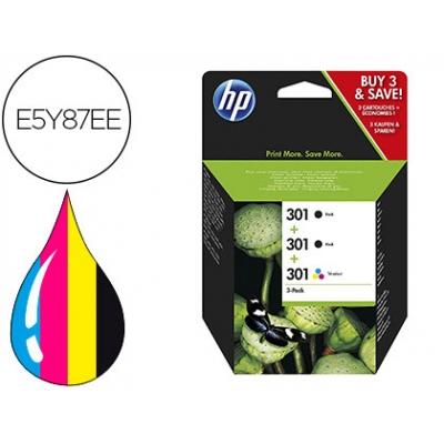 Hpe5y87e - Pack 2 X Hpch561e + 1 X Hpch562e - Hp301