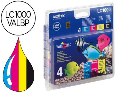 Brother Lc1000valbp