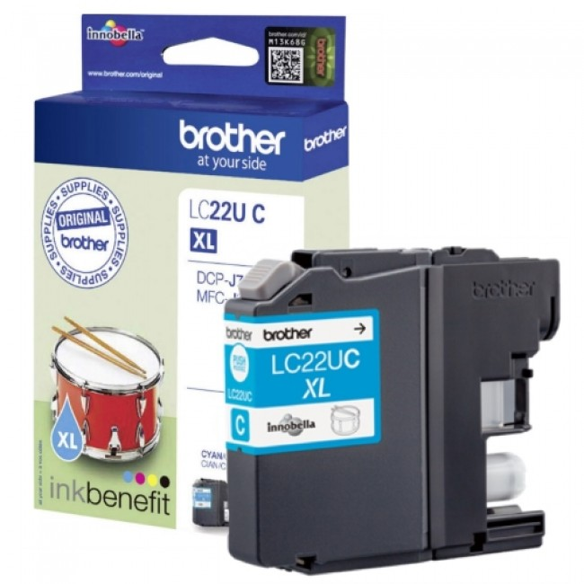 Brother Lc22u Azul
