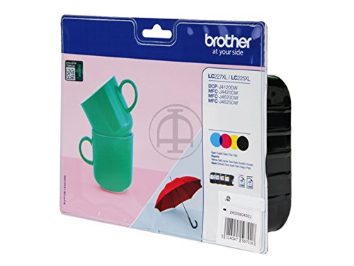 Pack 4 Brother Lc227xl + Lc225xl X 1 Cada Cor