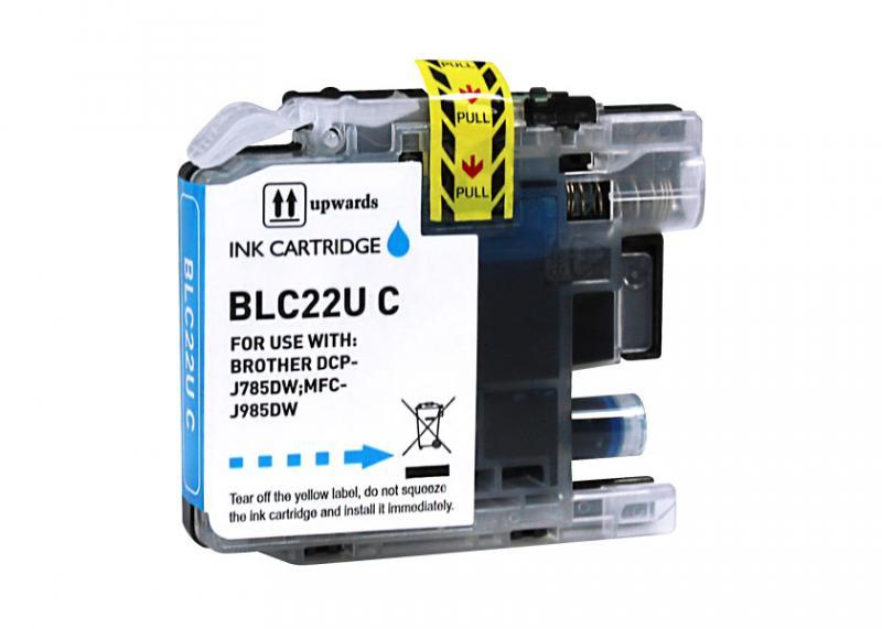 Brother Lc22u Azul Compativel